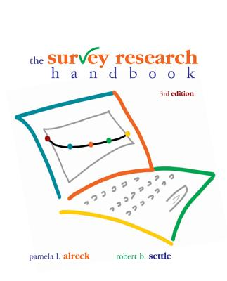 Survey Research Handbook (Paperback) Cover Image
