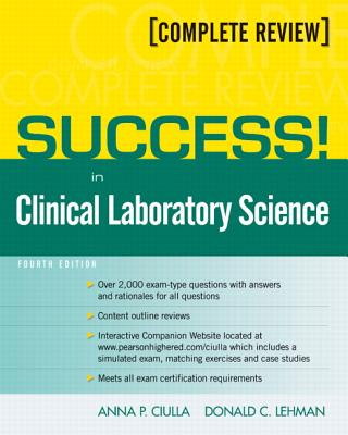 Success! in Clinical Laboratory Science Cover Image
