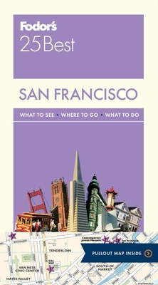 Fodor's San Francisco 25 Best Cover Image