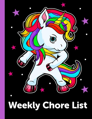 Weekly Chore List: Daily and Weekly Responsibility Tracker for Kids Cover Image