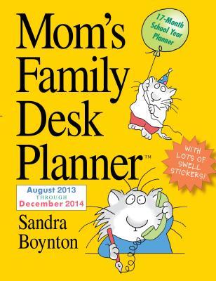 Cover for Mom's Family 2014 Desk Planner