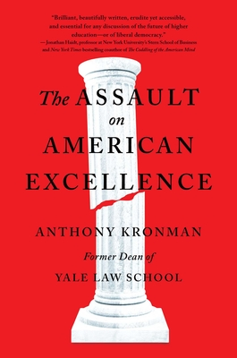 The Assault on American Excellence Cover Image
