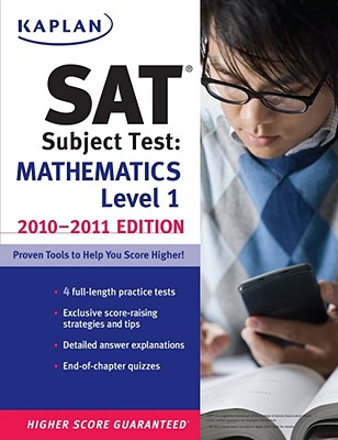Kaplan SAT Subject Test Mathematics Level 1 2010 2011