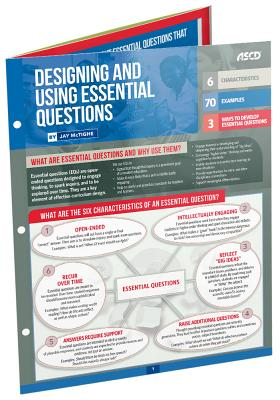 Designing and Using Essential Questions (Quick Reference Guide) Cover Image