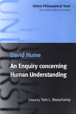 Cover for An Enquiry Concerning Human Understanding (Oxford Philosophical Texts)