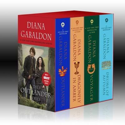 Outlander 4-Copy Boxed Set: Outlander, Dragonfly in Amber, Voyager, Drums of Autumn Cover Image
