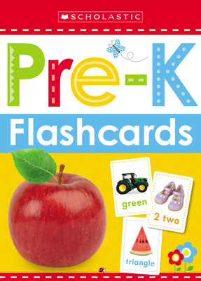 Get Ready for Pre-K Flashcards: Scholastic Early Learners (Flashcards) Cover Image
