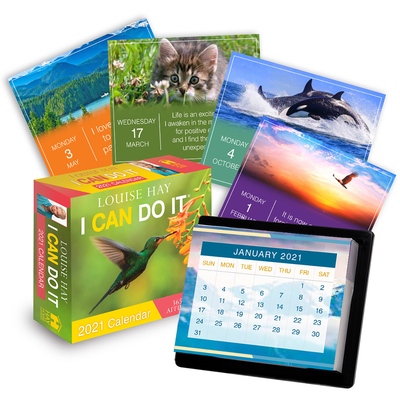 I Can Do It® 2021 Calendar: 365 Daily Affirmations Cover Image