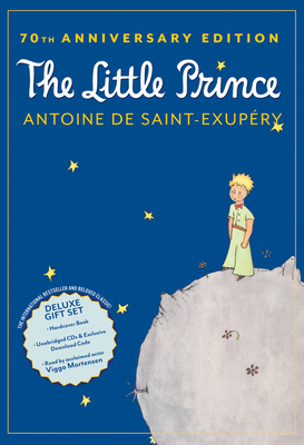 The Little Prince 70th Anniversary Gift Set (Book/CD/Downloadable Audio) Cover Image