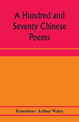 A hundred and seventy Chinese poems cover