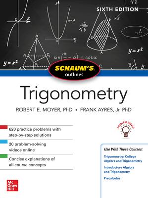 Schaum's Outline of Trigonometry (Schaum's Outlines) Cover Image