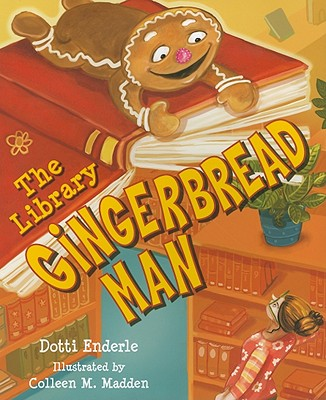 The Library Gingerbread Man Cover