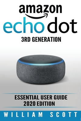 Amazon Echo Dot: Essential User Guide Cover Image