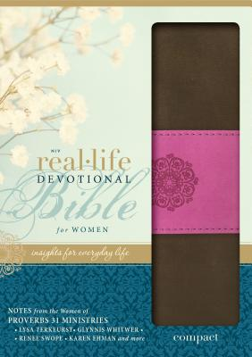 Real-Life Devotional Bible for Women-NIV-Compact Magnetic Closure Cover Image