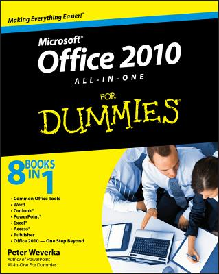 Office 2010 All-In-One for Dummies Cover Image