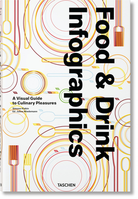 Food & Drink Infographics. a Visual Guide to Culinary Pleasures Cover Image