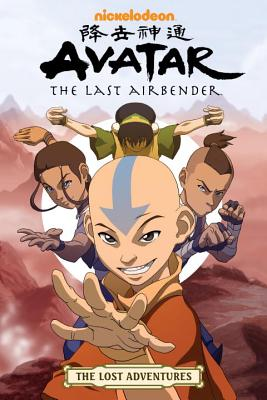 Avatar: The Last Airbender - The Lost Adventures Cover Image