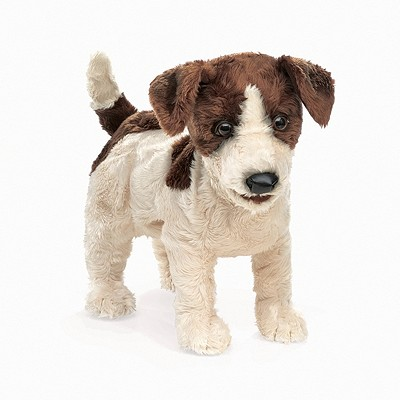Jack Russell Terrier Puppet Cover Image