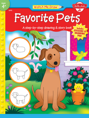 Favorite Pets [With Drawing PadWith Stickers] Cover