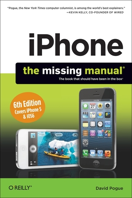 iPhone: The Missing Manual Cover Image