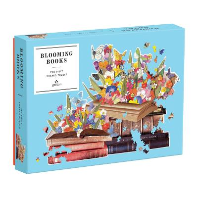 Blooming Books 750 Piece Shaped Puzzle Cover Image