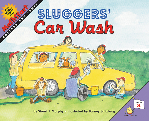Sluggers' Car Wash (MathStart 3) Cover Image