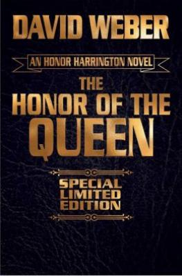 Honor of the Queen Signed Leatherbound Edition Cover Image