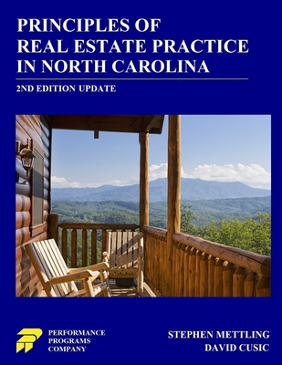 Principles of Real Estate Practice in North Carolina: 2nd Edition Cover Image