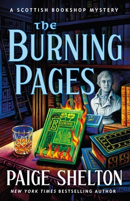 The Burning Pages (A Scottish Bookshop Mystery #7) Cover Image