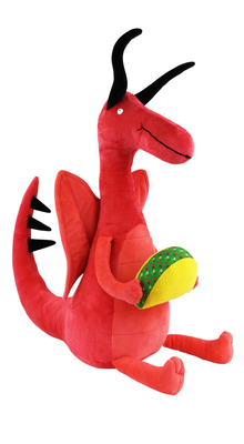 Dragons Love Tacos Giant Doll Cover Image