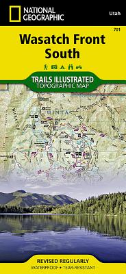 Wasatch Front South (National Geographic Maps: Trails Illustrated #701) Cover Image