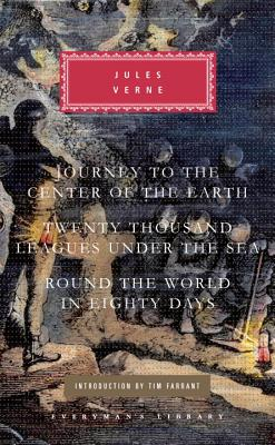 Journey to the Center of the Earth/Twenty Thousand Leagues Under the Sea/Round the World in Eighty Days Cover