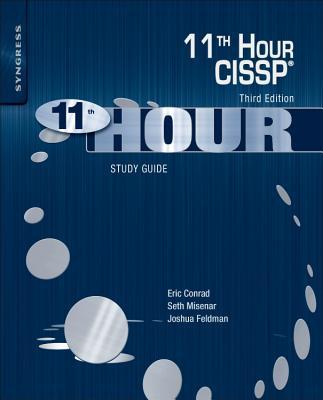 Eleventh Hour Cissp(r): Study Guide Cover Image