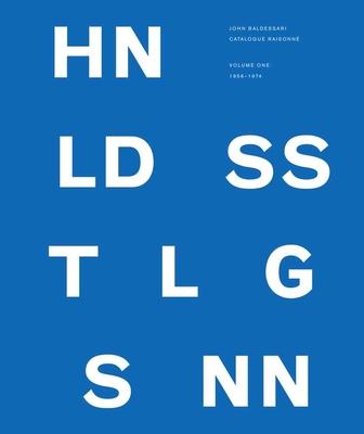 Cover for John Baldessari Catalogue Raisonné