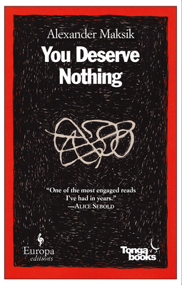 You Deserve Nothing Cover Image