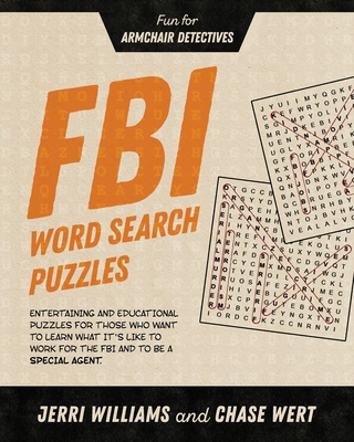 Cover for FBI Word Search Puzzles