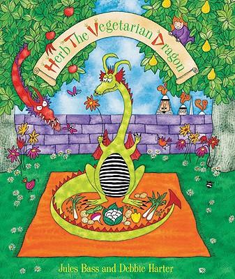 Herb the Vegetarian Dragon Hc Cover