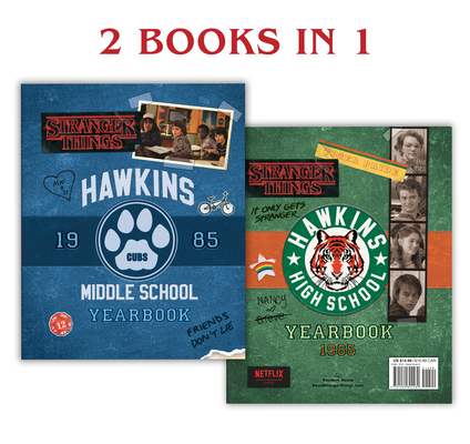 Hawkins Middle School Year Book/ Hawkins High School Year Book by Matthew J. Gilbert