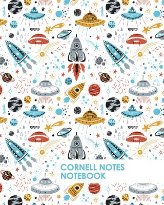 Cornell Notes Notebook: Space Theme Stem Notebook Supports a Proven Way to Improve Study and Information Retention. Cover Image