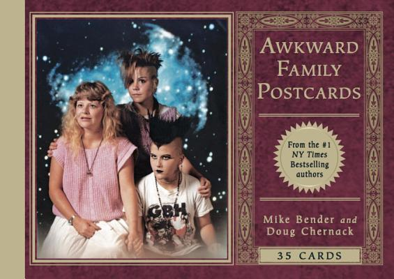 Awkward Family Postcards: 35 Cards Cover Image