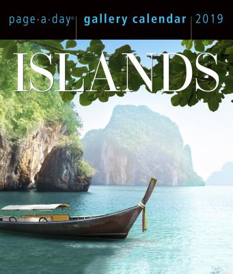 Islands Page-A-Day Gallery Calendar 2019 Cover Image