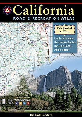 California Benchmark Road & Recreation Atlas Cover Image