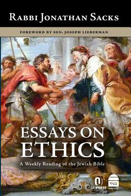 Cover for Essays on Ethics