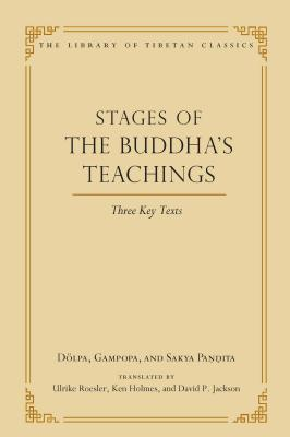 Stages of the Buddha's Teachings, 10: Three Key Texts (Library of Tibetan Classics #10) Cover Image