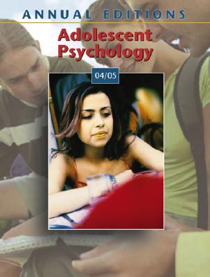Annual Editions: Adolescent Psychology 04/05 Cover Image