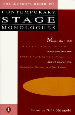The Actor's Book of Contemporary Stage Monologues: More Than 150 Monologues from More Than 70 Playwrights Cover Image