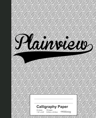 Calligraphy Paper: PLAINVIEW Notebook Cover Image