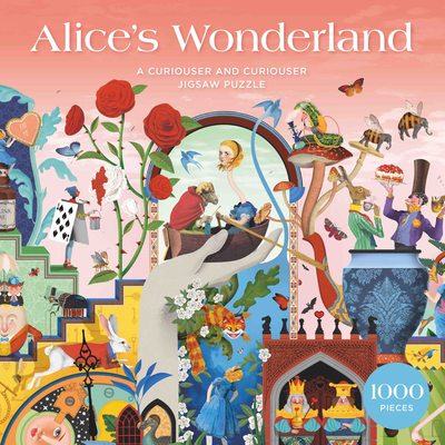 The Alice's Wonderland 1000 Piece Puzzle: A Curiouser and Curiouser Jigsaw Puzzle Cover Image