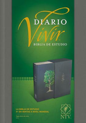 Biblia de Estudio del Diario Vivir Ntv Cover Image
