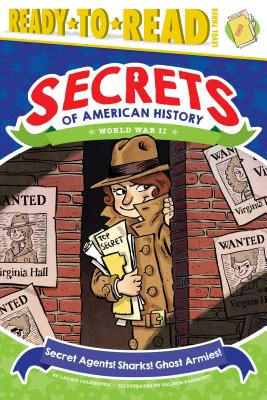 Cover for Secret Agents! Sharks! Ghost Armies!